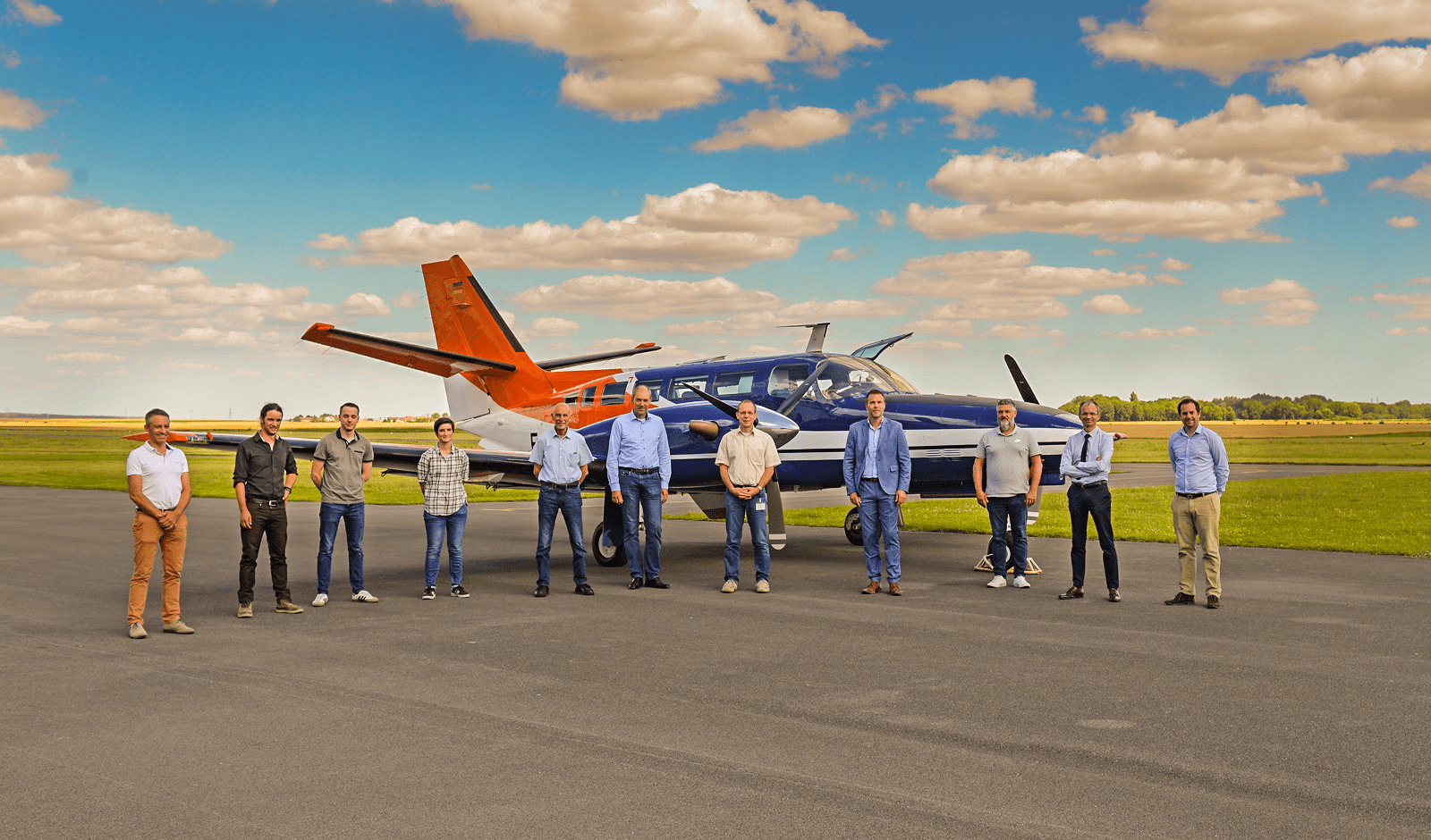 ASI Group annonce la livraison d'un F406 «Mission» à l'Institut Universitaire de Braunschweig