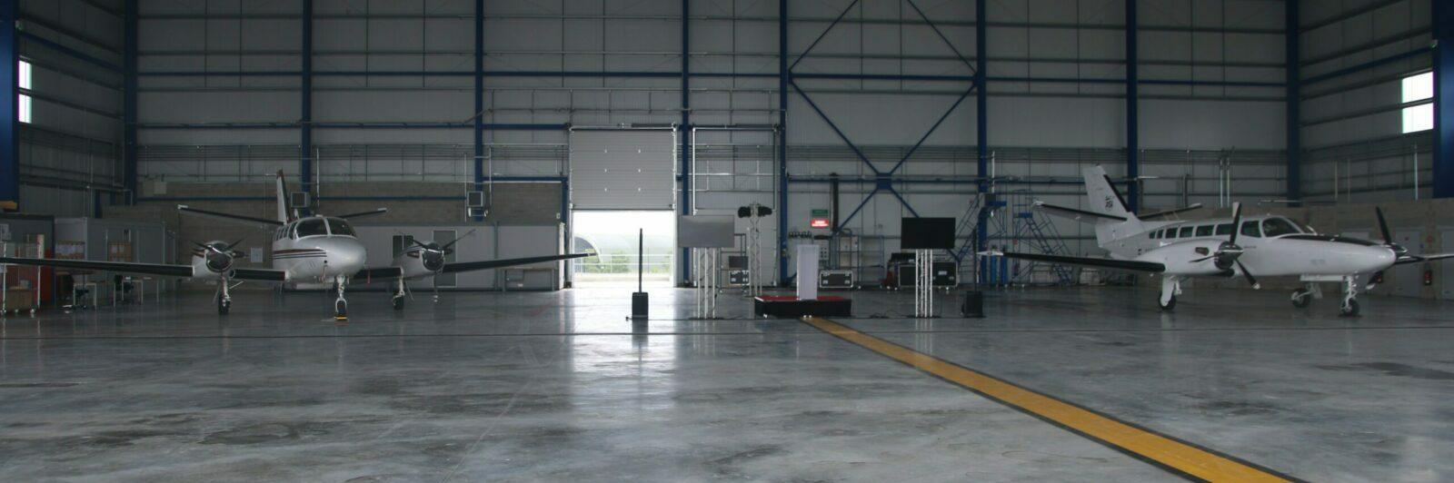ASI inaugure sa nouvelle base de maintenance à Paris-Vatry